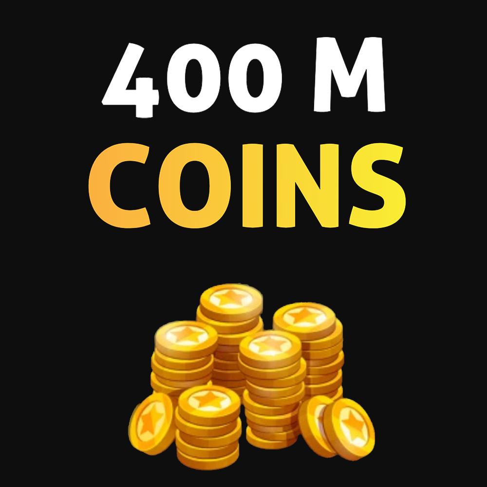 400 میلیون سکه Soccer Stars
